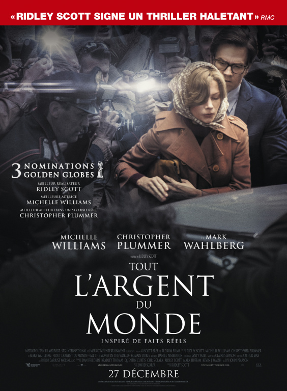Affiche du film Tout l'argent du monde