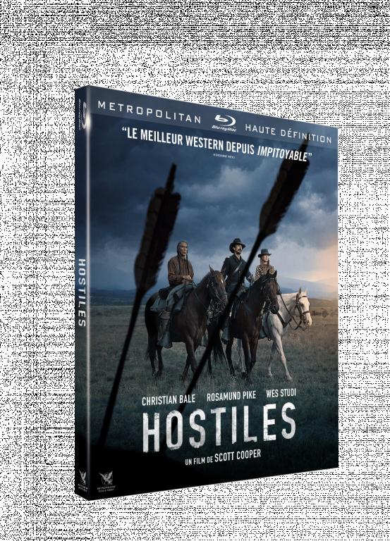 blu-ray du film HOSTILES