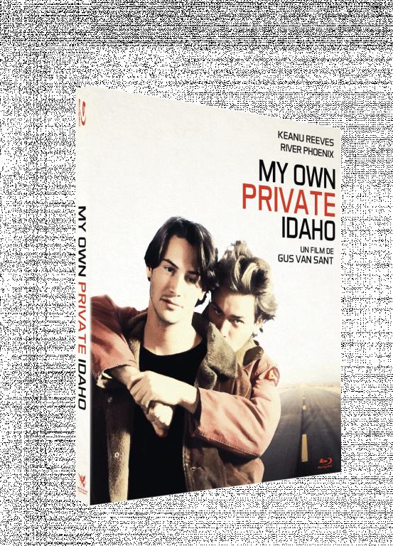 blu-ray du film My own private Idaho