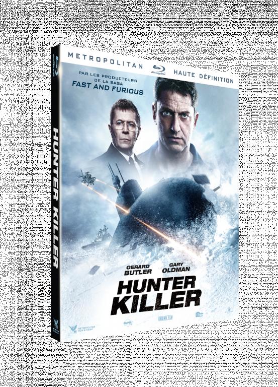blu-ray du film Hunter killer