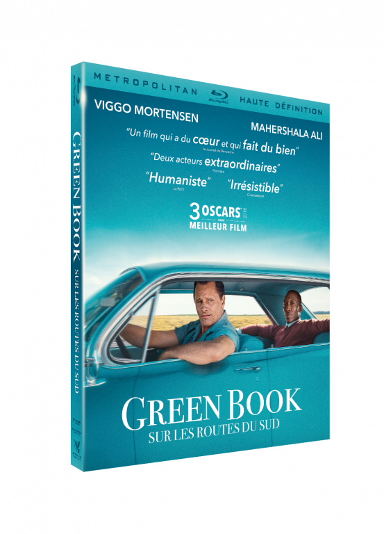 blu-ray de Green book